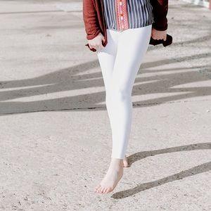 White ankle leggings SPANX